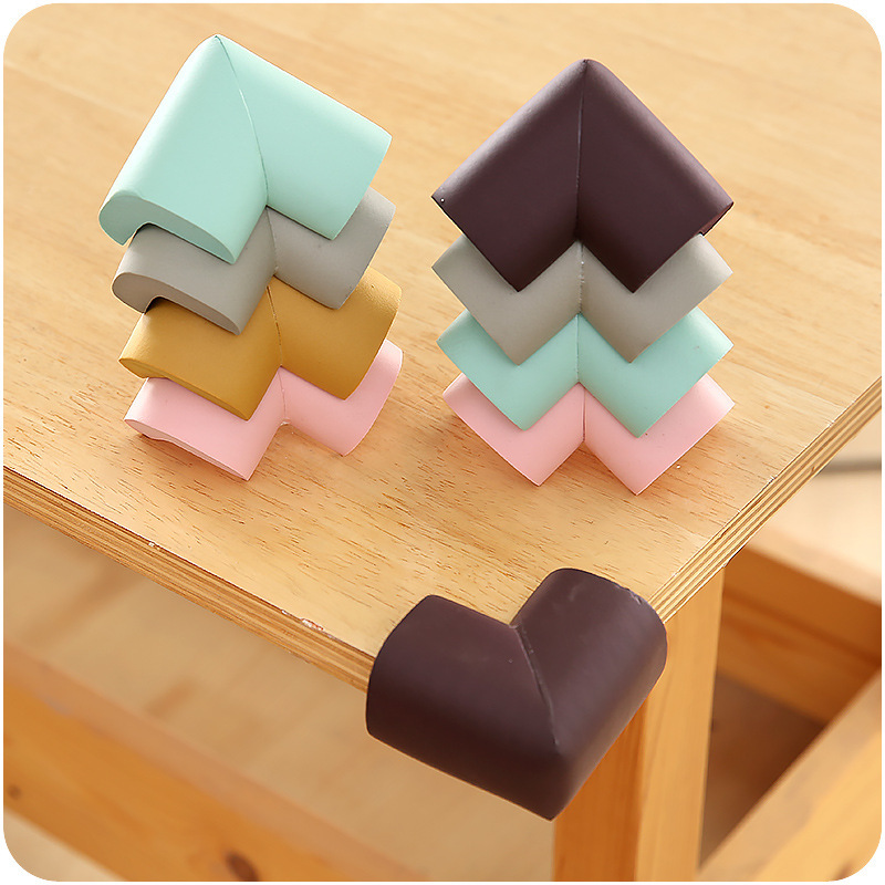 8Pcs/lot 5.5*3.5*1.2cm Children Protection Corner Soft Table Desk Children Safety Corner Baby Safety Edge Guards