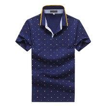 2017 summer New arrival short sleeves men Polo shirts Men's dot design Polo Shirts Men high quality 100% cotton POLO shirt