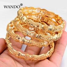 Wando 4 pçs/lote mais novo ouro cor étnica pulseira oriente médio indiano casamento feminino bangle pode abrir fantasia padrão jóias b11