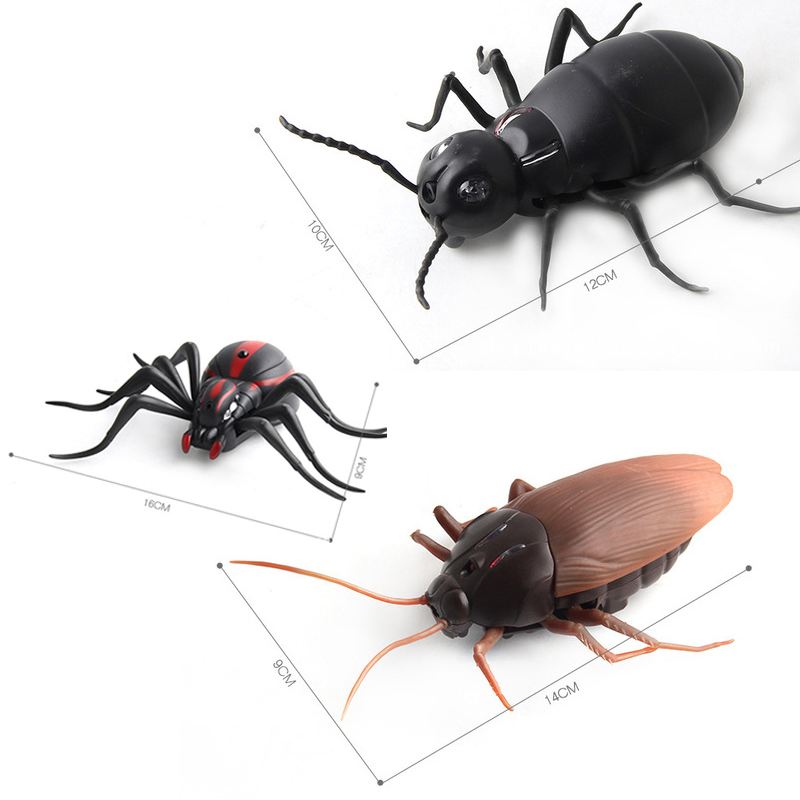 Image 2 - High Simulation Animal Cockroach Spider Ant Infrared RC Remote Control Funny Prank Realistic Insect Snake Kids Adults Jokes Toys-in RC Robots & Animals from Toys & Hobbies