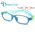 IVSTA Bendable No Screw Kids frame glasses Boy Child glasses Flexible Children frames eyewear TR Optical glass 8817