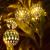 Navidad llevó la Lámpara pequeña bola 220 V 2 M 20 led USB Operado Decoración Del Banquete de Boda Del Festival LED de Alambre de Cobre cadena de Hadas de Luz