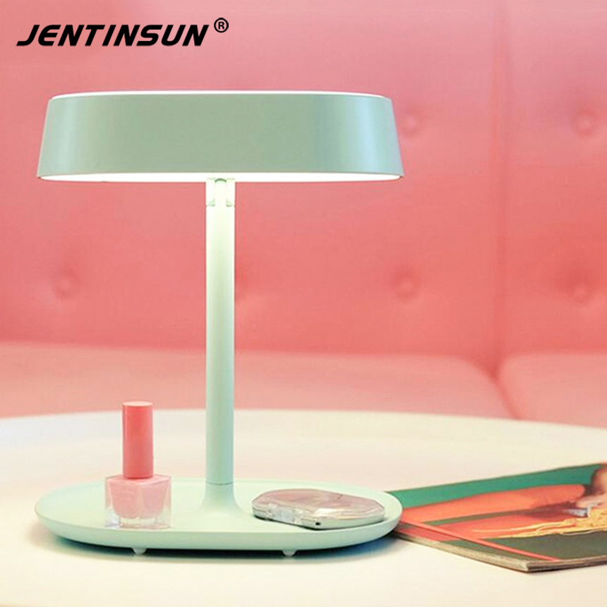 Creative Rechargeable LED Lamp Makeup Mirror Night Lights Mirror Lamp Smart Home lights Table Lamp for Birthday Christmas Gift подводка limoni lacquer eyeliner 01