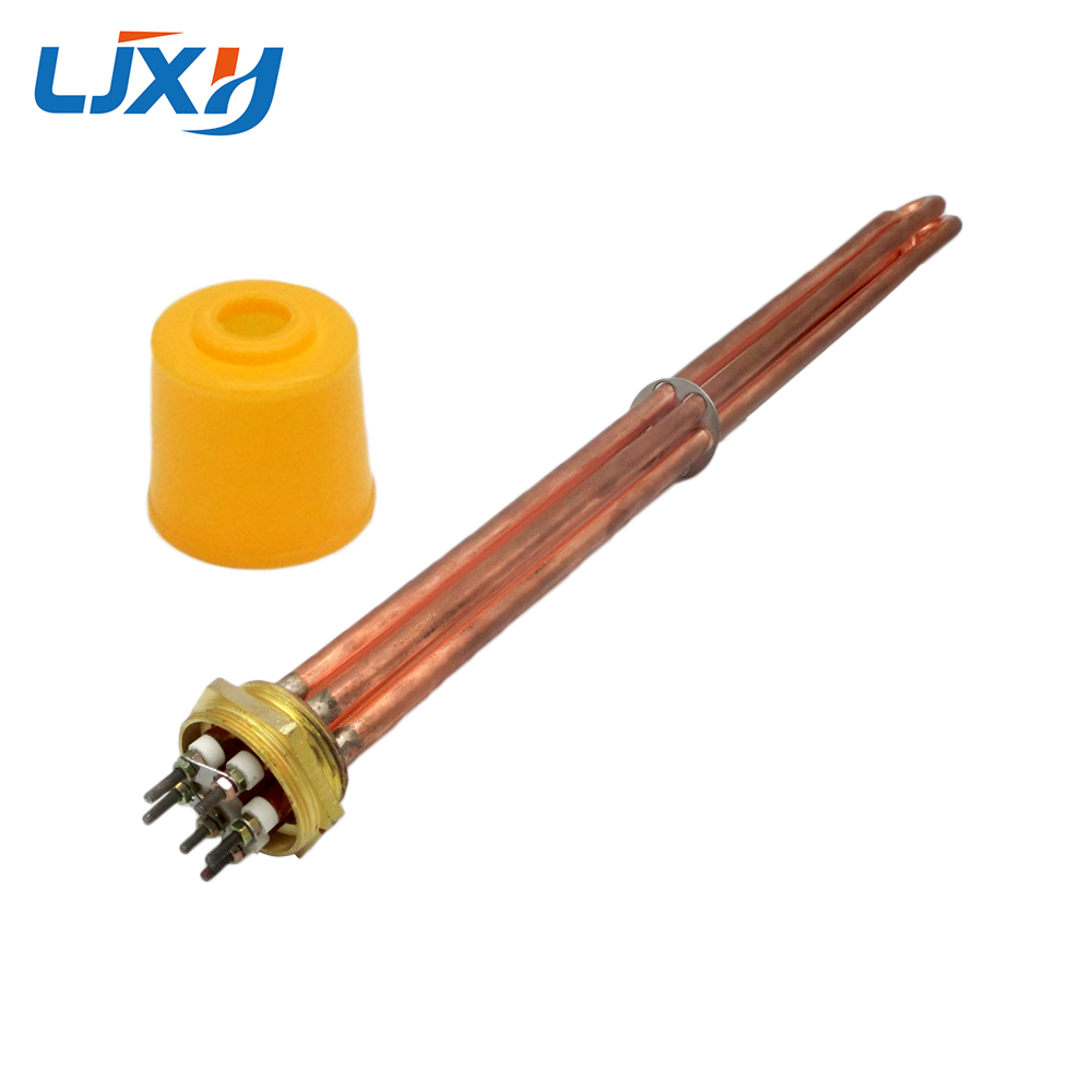 Copper 2 DN50 Water Heating Element 600mm Lengthening Copper Tube with A Fixed Plate Heater for
