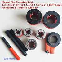Manual Pipe Threading Tool 1 2 3 4 1 1 1 4 1 1 2