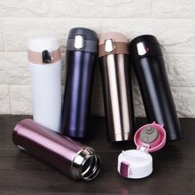 New 500ML Portable Thermos Mug Coffee Cup with Lid Thermocup