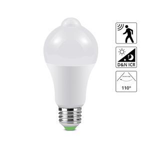 Image 1 - 12W 18W Motion Sensor LED Bulb Lamp For Stair Corridor 110V 220V Aisle Doorway Infrared Induction LED Night Light Sensor Lamp