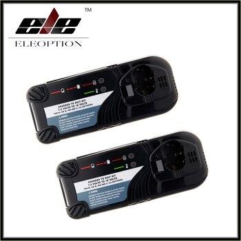 Eleoption 2PCS Charger for Hitachi 7.2V-18V Ni-CD Ni-MH and Li-ion Power Tool Battery,UC7SB,UC9SD,UC14SD,UC14YFA,UC18YG