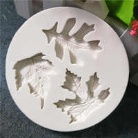 New Simulates Maple Leaf Mould Designer DIY 3d Wall Panel Clay Mold, Concrete Molds, Molds for Plaster