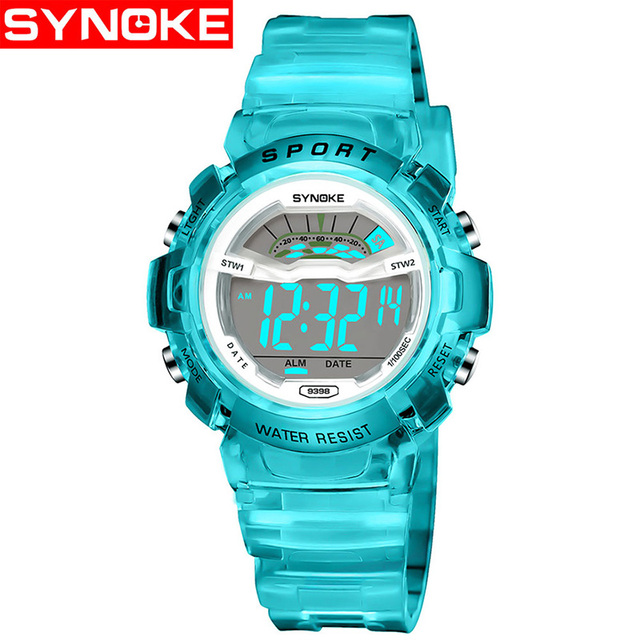 SYNOKE Children Watches Cute Kids Watches Sports Cartoon Watch for Girls boys Ru