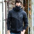 Neue hohe kragen hoodie windjacke sport pullover männer der hemd dicken plus samt männlichen zwei farbe wandern angeln jagd jacke-in Wanderjacken aus Sport und Unterhaltung bei