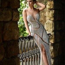 Уникальный дизайн, новое шикарное милое платье знаменитостей, блестящее вечернее платье в пол, Роскошные вечерние платья для выпускного вечера, Veatidos