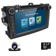 5.1.1 cuádruple Núcleo Reproductor de DVD Del Coche del Androide 1024*600 para Toyota Corolla 2007-2011 Car Stereo GPS de Vídeo jugador (DTV DAB + Opcional)