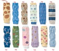 Summer Baby Leg Warmers Infant Toddler Safety Crawling Knee Pads Protector Newborn Baby Animal Printed toddler safety breathable