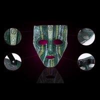 Resina de alta Calidad Veneciana Del Carnaval de La Mascarada de la Máscara de Loki Replica Película Cosplay Apoyos Del Partido de Halloween Para Adultos Máscara de Cara Completa