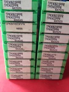 Image 2 - سنفو نك 10 قطعة كربيد إدراج TPKN 2204 TPKN1603 TPKN160304 PPRNX2525 نك تورنو ferramentas دي كورتي تورنو نك إنسر