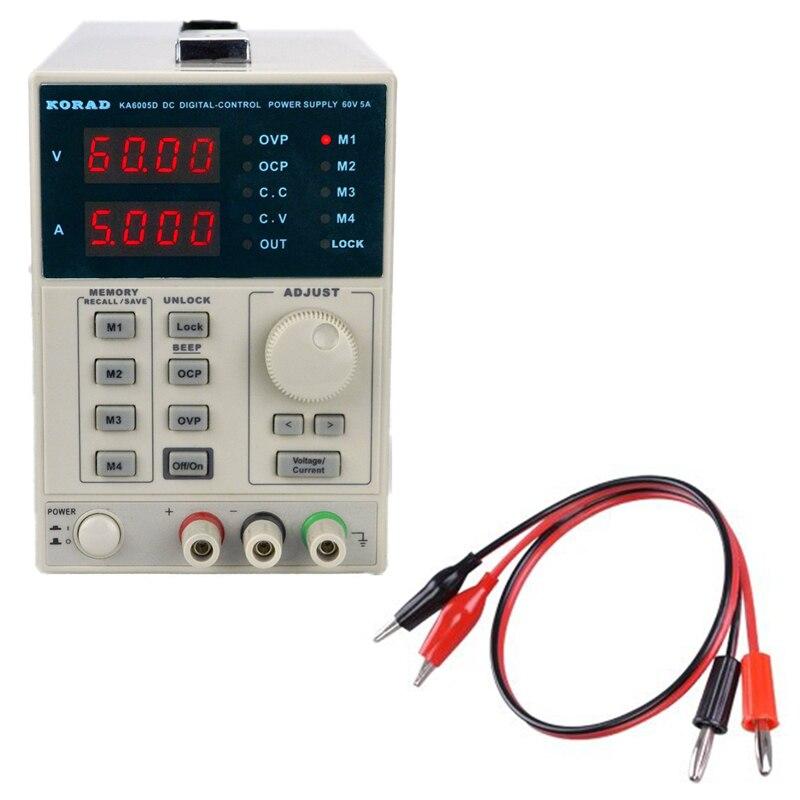 KORAD KA6005D -Precision Variable Adjustable 60V 5A DC Linear Power Supply Digital Regulated uni t utp3305 dc power precision variable adjustable supply supply digital regulated dual
