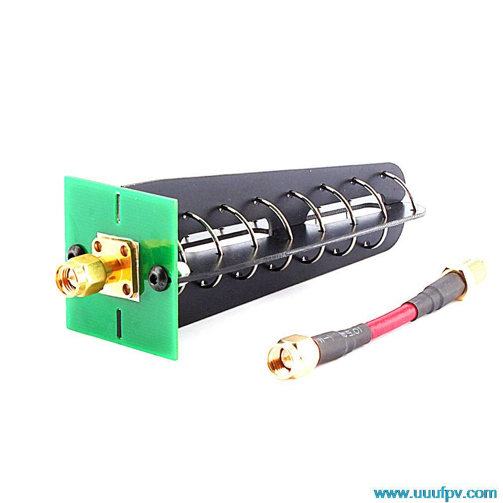 1 STÜCKE RC FPV Aomway AV-receiver antenne 11dbi 7 Drehen 5,8G Helical RHCP SMA RP-SMA empfangsantenne Rechts polarisierte