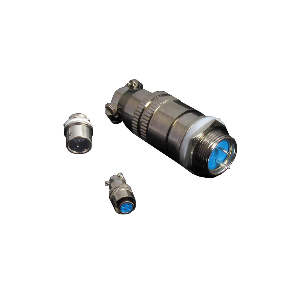 <font><b>1</b></font> Set 12mm XS12-(<font><b>2</b></font>/3/4/<font><b>5</b></font>/6/7Pin) Screw Aviation Connector Plug, The aviation plug Cable connectors, Ac/<font><b>dc</b></font> circuit image