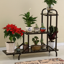 European style flower racks multi storey frame floor living room balcony