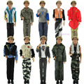 Random Pick 3 Set Original Clothes Male Doll Casual Outfits Uniform  For Ken  Doll xMas Gift best Gift Girl Partner Baby Toy