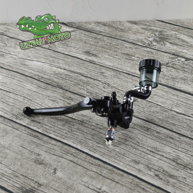 Vintage Mud scrambler cafe racer Motorcycle Brake Pump universal Front Brake Pump Brake Pump Master Cylinder motorcycle cm 125 front wheel brake cylinder disc brake pump assy motorbike up pump brake level for honda cm125 cm 125