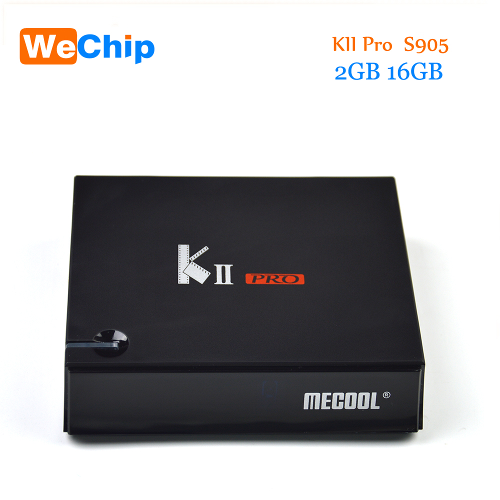 KII Pro Android 7.1 TV Box+ DVB S2/T2 2G 16G Amlogic S905D Quad-core 4K*2K 2.4G&5G Wifi Bluetooth 4.0 Android tv box receiver kii pro android 5 1 1 tv box built in 2 4g