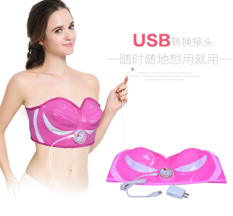 Top grade breast massager bust massage instrument electric infrared heating breast instrument Bust Shaping instrument medical infrared breast detector infrared mammary exam device medical infrared breast examination lamp