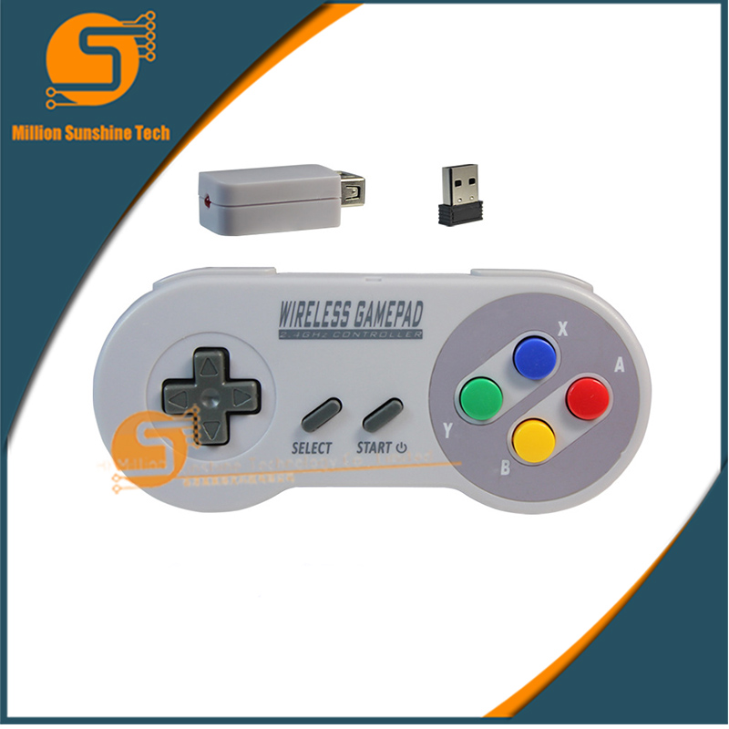 The classic Mini Mini Wireless USB game handle free shipping ...
