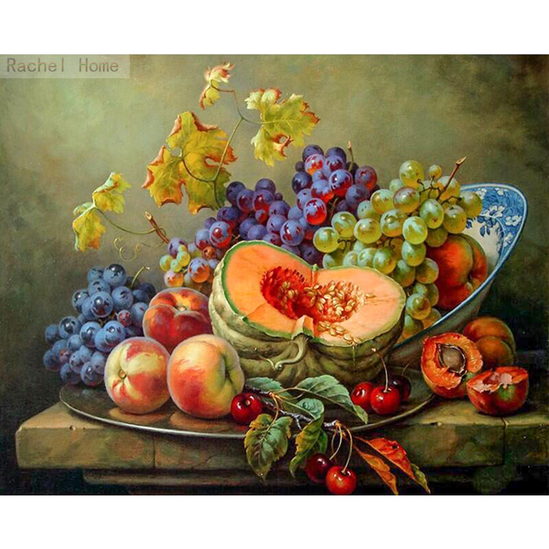 Diamond Embroidery Diy Diamond Paintingross Stitch Kits Diamond  Mosaic Fruits and vegetables Full Square Diamond Embroidery QS