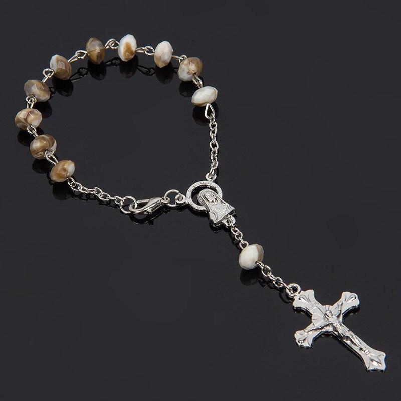 2018 New black Lava stone bracelet for women/man Rosary Natural plastic stone bracelet men , bracelets & bangles Pulseras