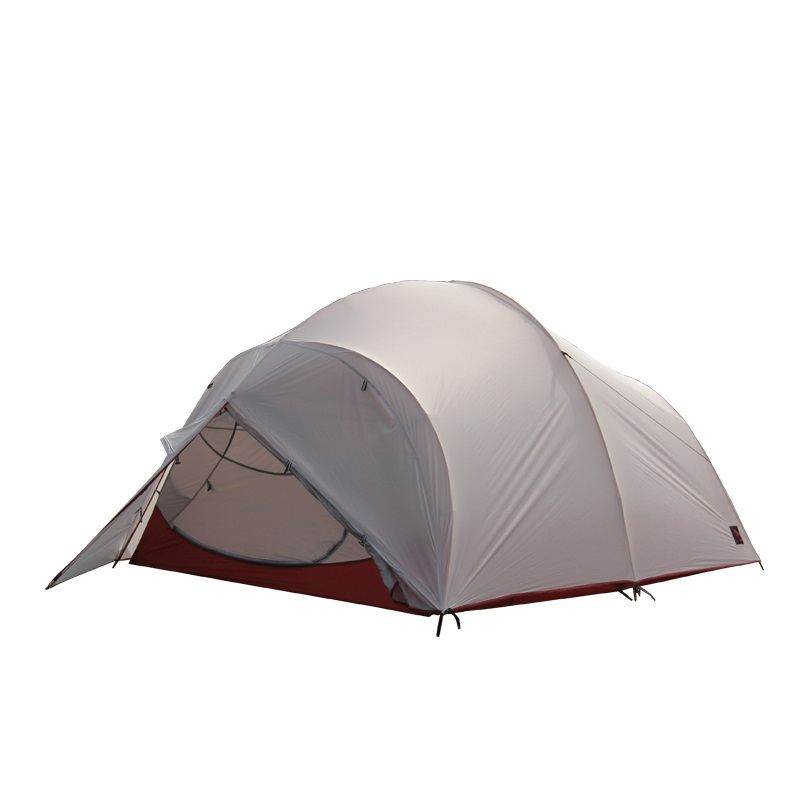 Hillman flying cloud 4 people outdoor double aluminum pole tent super light 2D coated silicon waterproof windproof camping in Tents from Sports Entertainment