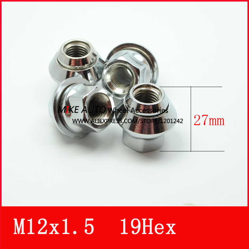 20pcs Opened M12x15 Pcd Wheel Lug Nut Hex193 4 For Ford Mondeo