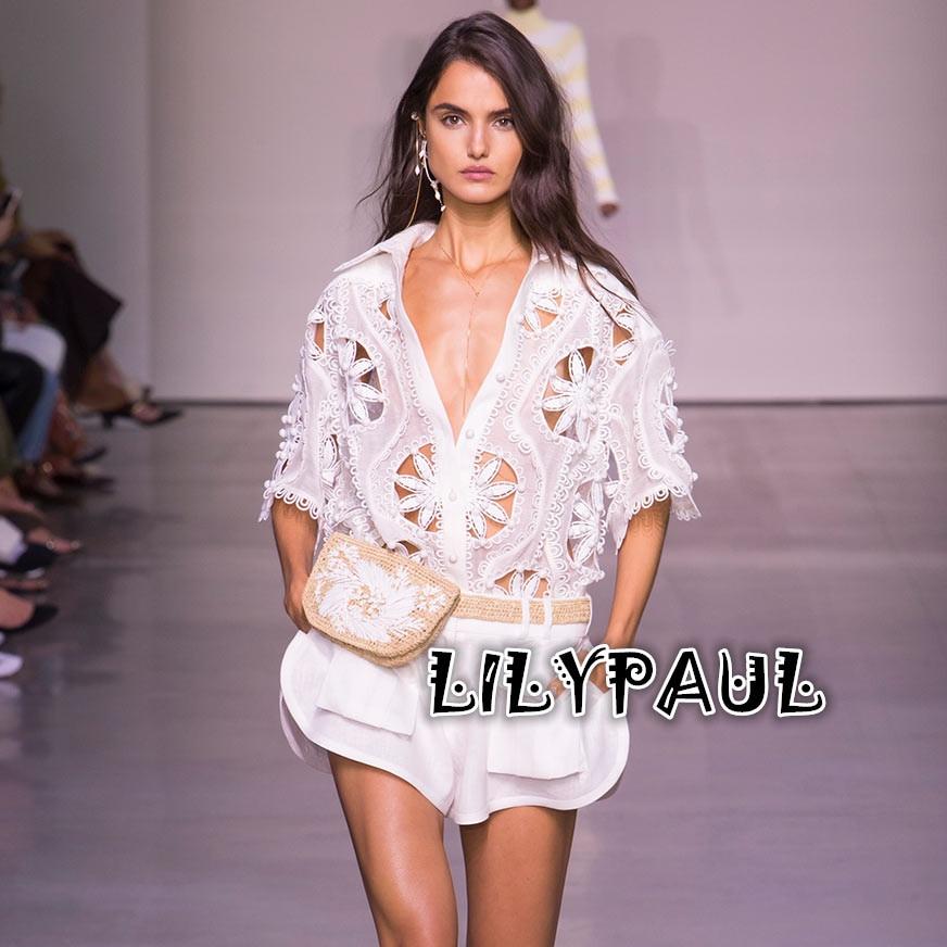 Для женщин Золотой салфетка Блузка Белый Linen silk Blend негабаритных ручной роуло отделкой Золотой салфетка рубашка