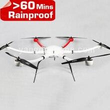 YD6 1600S bend Professional Camera Drone Frame Long Flying Time Rainproof Multirotor for UAV Aerial Inspection Surveillance