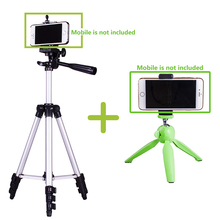 four sections Mini desk Tripod digital Digital camera moveable sport motion cell phone smartphone tripod sefie stick VS Manfrotto Pixi-B