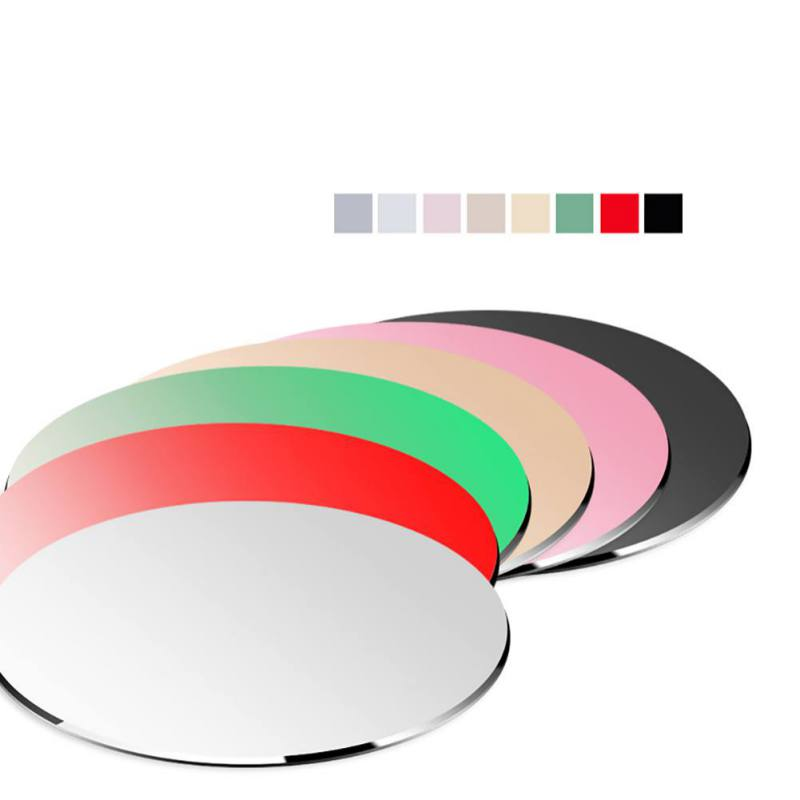 Round Aluminum Alloy Mouse Pad metal Round Mouse Pad Mouse Pad Office Computer Table Mats Gold Silver Black