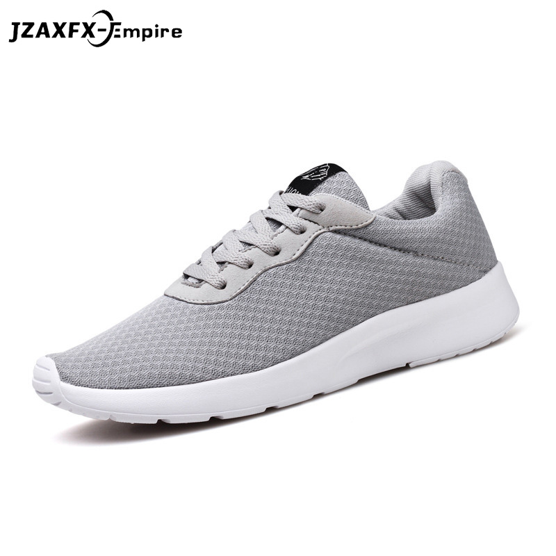 Men Summer Breathable Mesh Shoes Lace-up Mens Causal Shoes High Quality footwear flats tenis masculino Shoes for Men