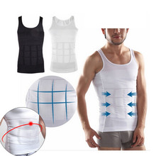 Men Slimming Underwear Body Shaper Waist Cincher Corset Vest Tummy Belly Slim Shapewear