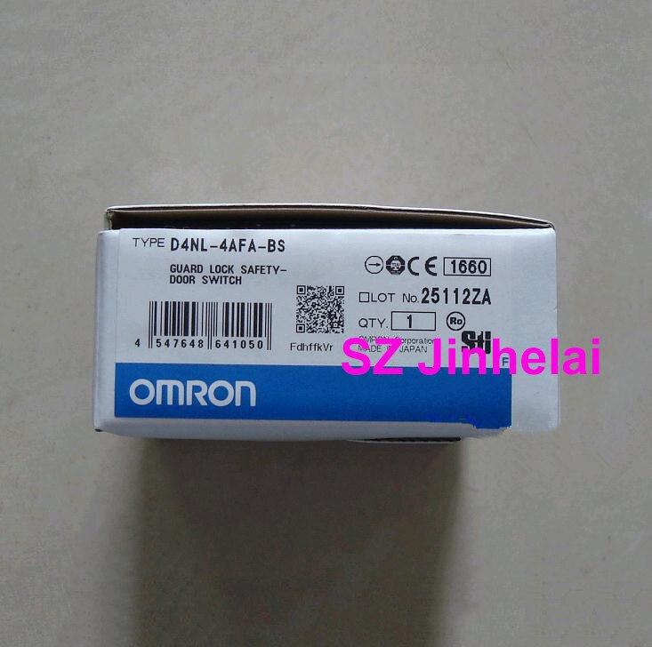 OMRON D4NL-4AFA-BS authentique original garde serrure sécurité-porte interrupteur