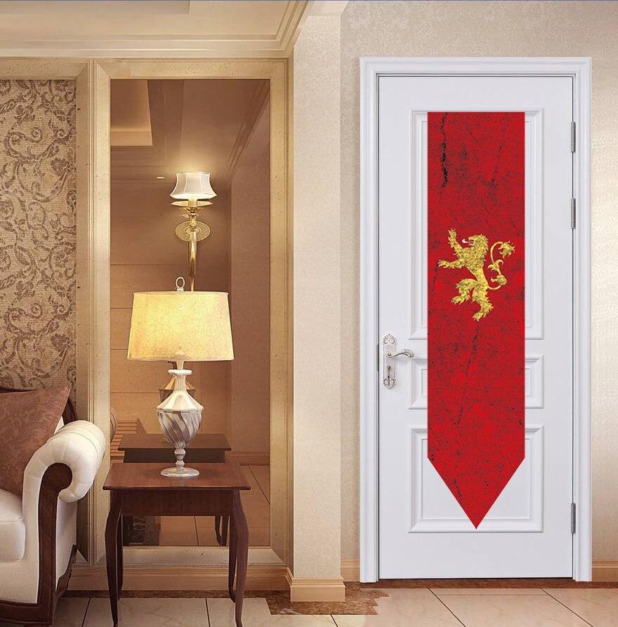 Game of Thrones Stark Targaryen Greyjoy Lannister House Hanging Flag Banner 8C