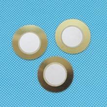 100 шт. 27 мм Толщина 0,33 мм медный пьезо диск для зуммер датчик давления динамик DIY Электронный