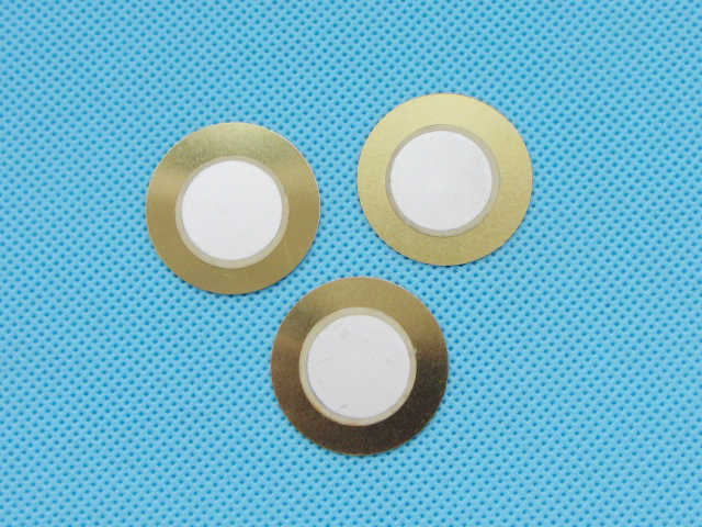 100pcs 27mm Thickness 0.33mm Copper Piezo Disc for Buzzer Pressure Sensor Speaker DIY Electronic