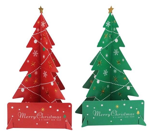 2pc DIY Christmas Tree Centerpiece New Years Decoration Christmas ...