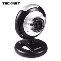 TeckNet C016 USB HD 720P Webcam 5 MegaPixel 5G Lens USB Microphone 6 LED