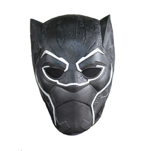 NEW Black Panther Party Latex Mask for Halloween Drop Shipping
