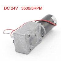 634JSX634 31ZY DC 24V 3500/5RPM DC Worm Gear Reduction Motor