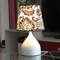 Simple Fabric Table Lamp Dimmable Linen Table Lamps Bedroom Bedside Small Lamp Home Decoration Desk Light