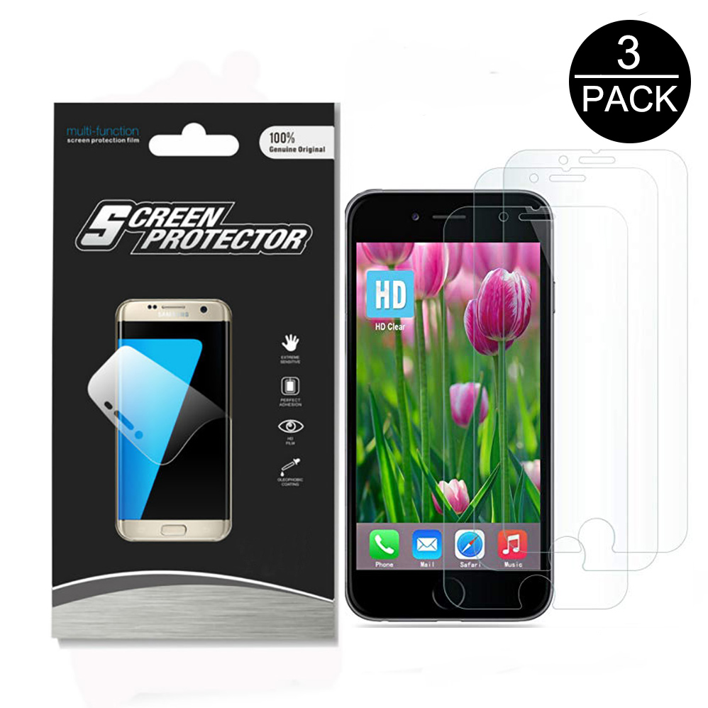 3PACK High Transparence Screen Protector for Apple iPhone 6 / 6S 4.7
