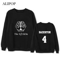 ALIPOP Kpop EXO PLANET 4 Album Thin Hoodie Hip Hop Casual Loose Hoodies Clothes Pullover Printed